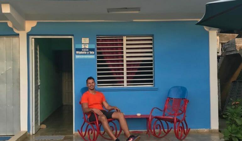Casa particular in Viñales, Cuba.