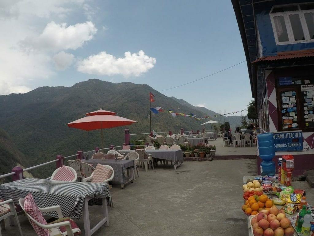 Restaurante Place Hille em Ulleri, Nepal