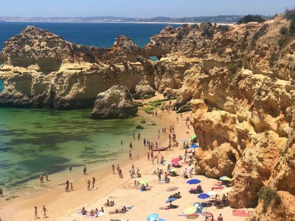 playas en Algarve