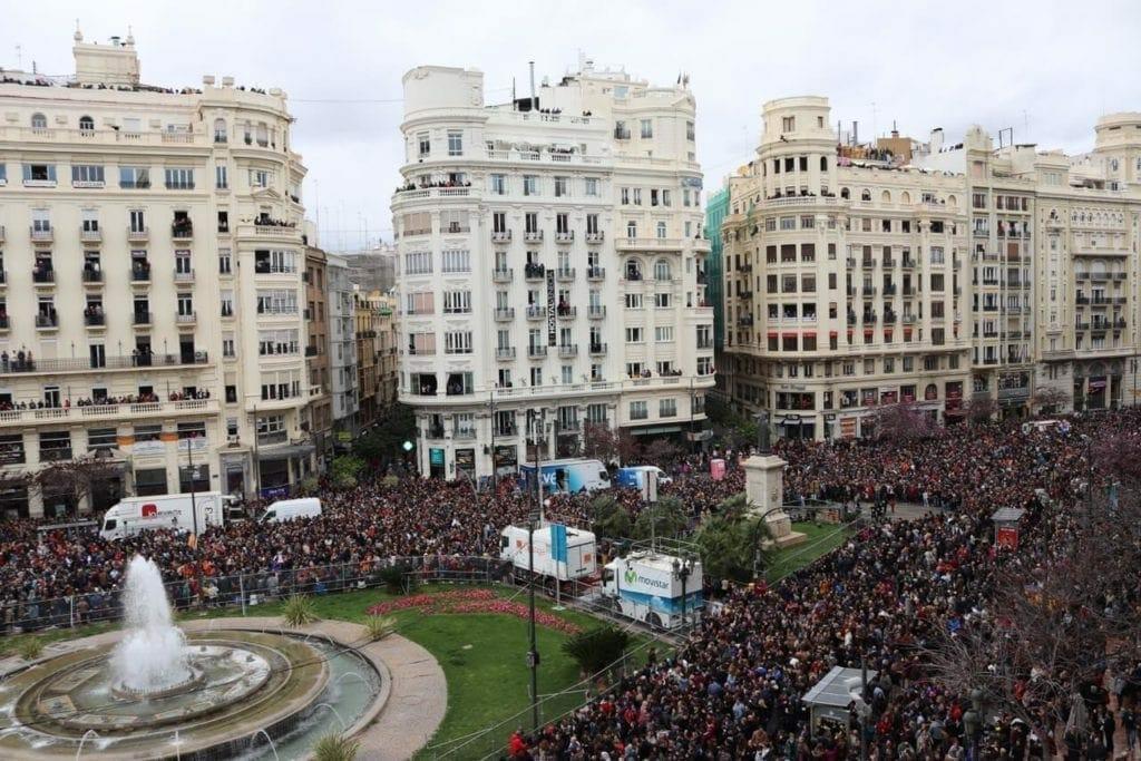 Festival in Valencia