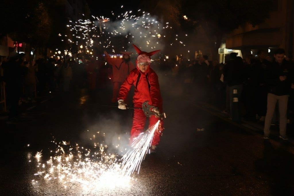 Fire Parade, Valencia