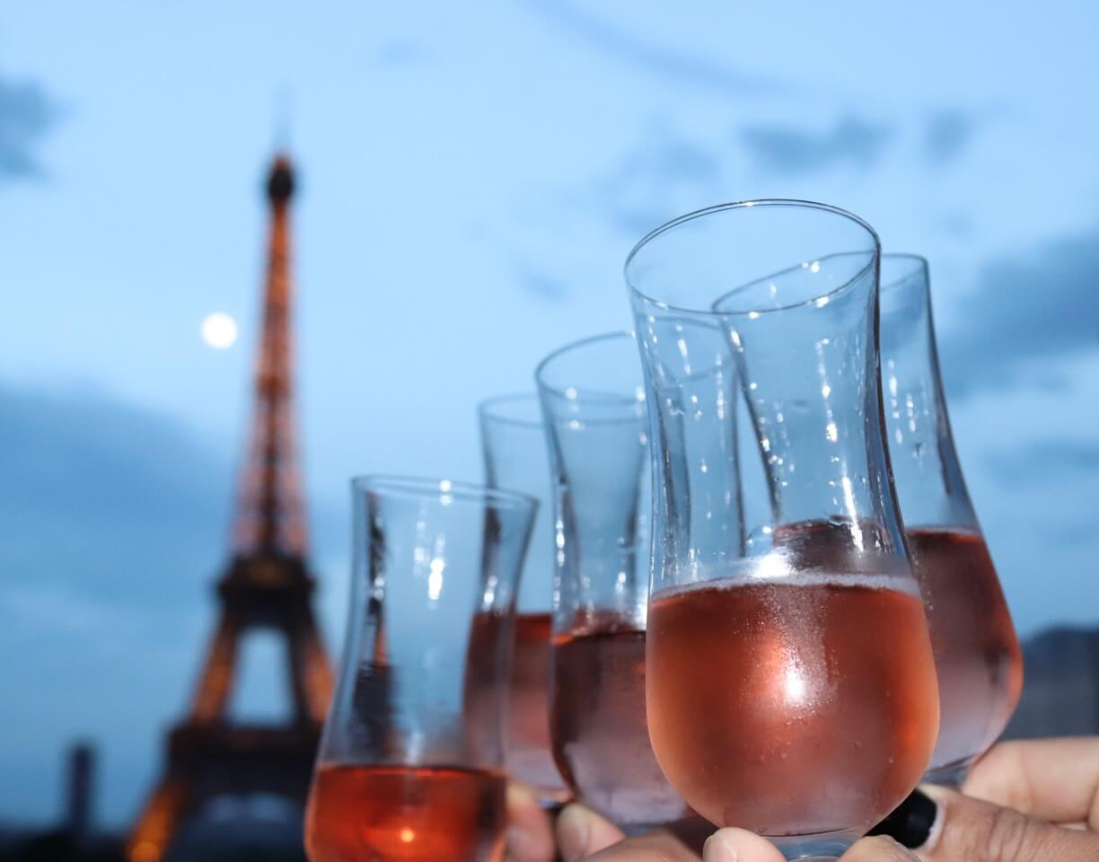 Celebrate because isn't everyday that you have the chance to go to Paris.