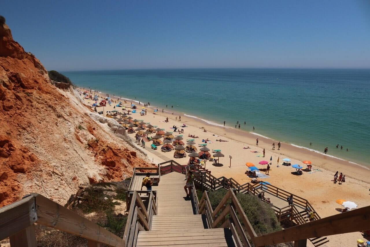beaches in Albufeira