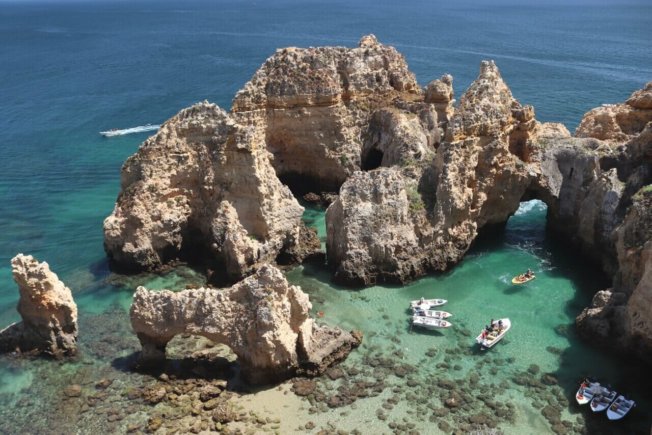 beaches in lagos beaches in algarve