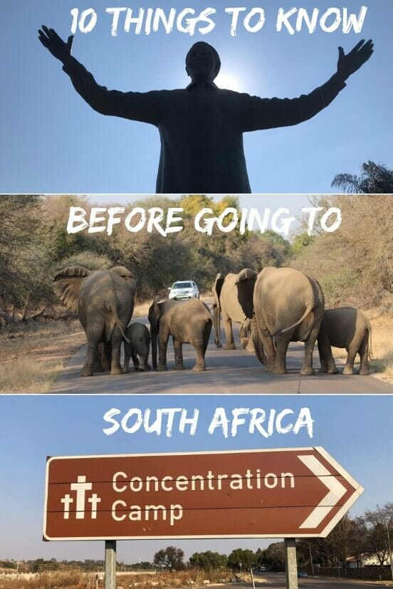 what to know before going to South Africa