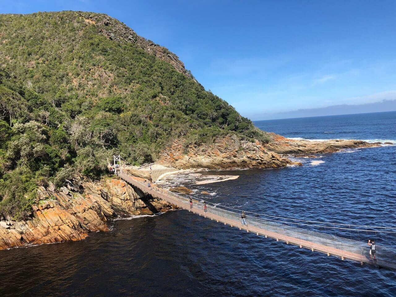 Bungee jump na Africa do Sul