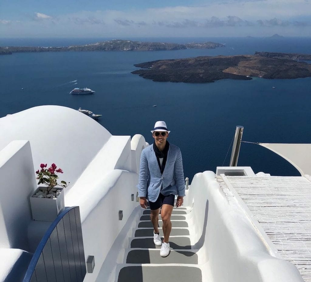 The Chromata Hotel is one of the most famous instagrammable places not only in Imerovigli, but in the whole Santorini.
