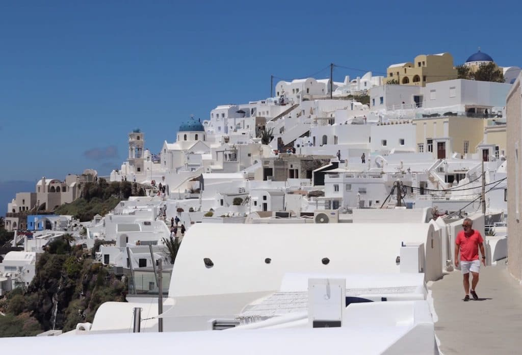 Walk the path between Fira to Imerovigli is one of the top things to do in Imerovigli.