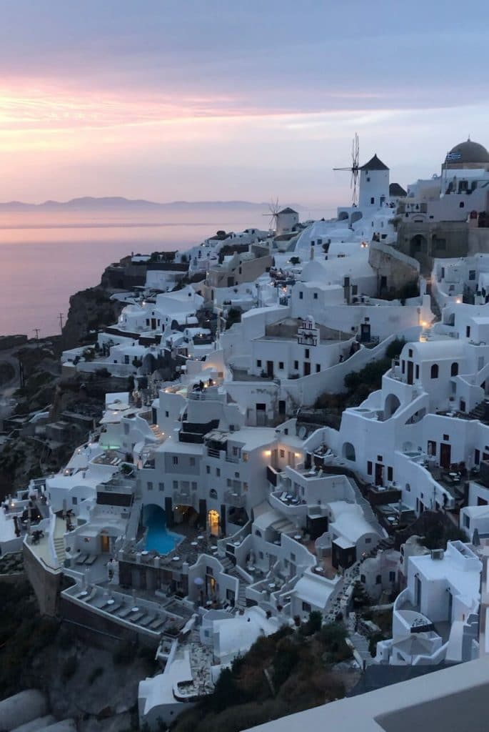 However, if you're willing to hire a car or spend quite a bit of time on buses, Oia could be one of the best places to stay in Santorini.