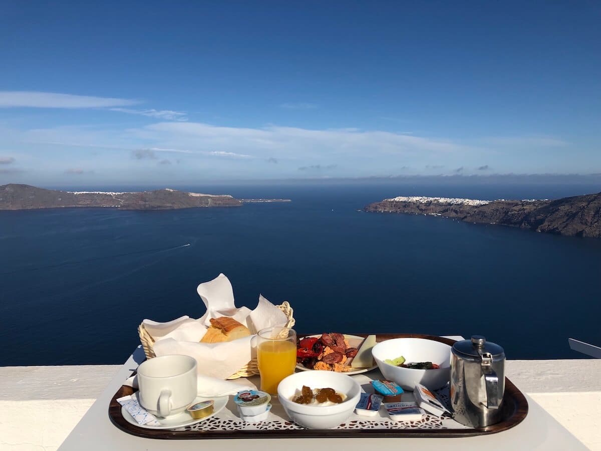 Imerovigli is a dream village and home to many luxury Santorini hotels and upscale restaurants