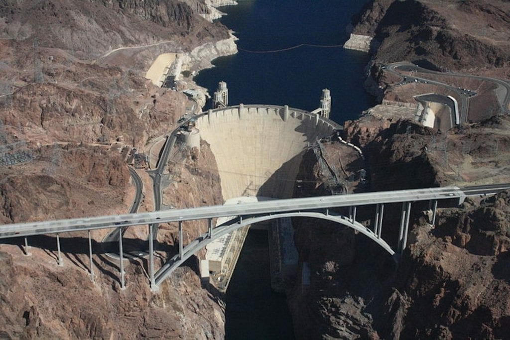 The Impressive Hoover Dam Colorado in Las Vegas.