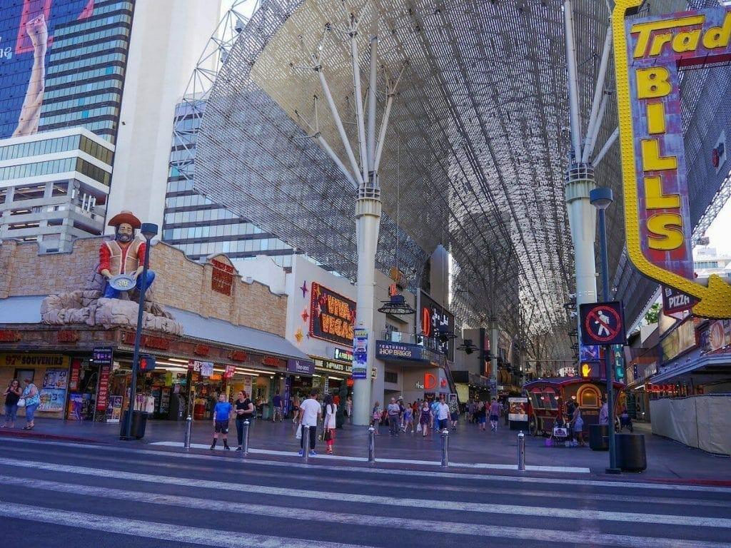 Fremont Street, Las Vegas.