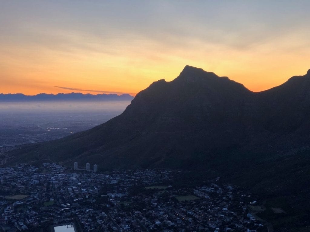 I would say that the best time for hiking Lion's Head is sunrise