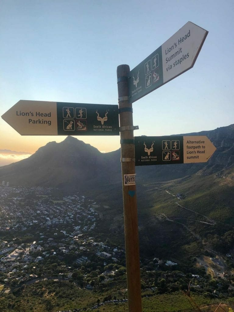 Lion's Head signs