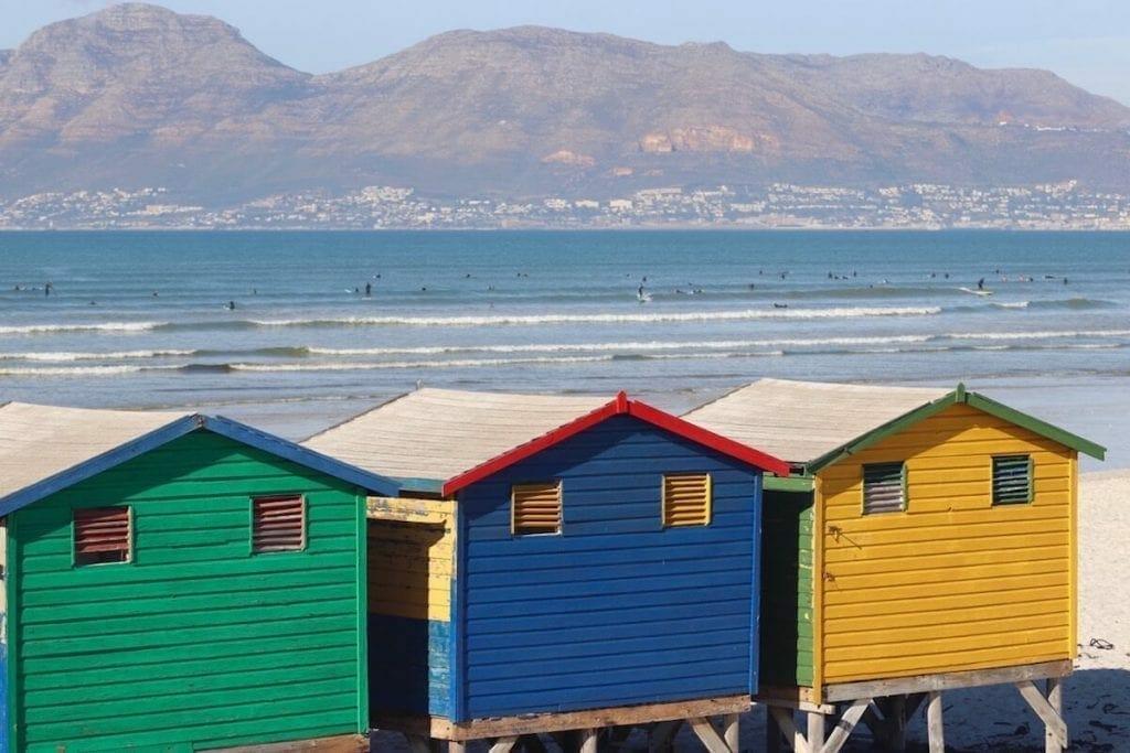 Muizenberg Beach, Cidade do Cabo.