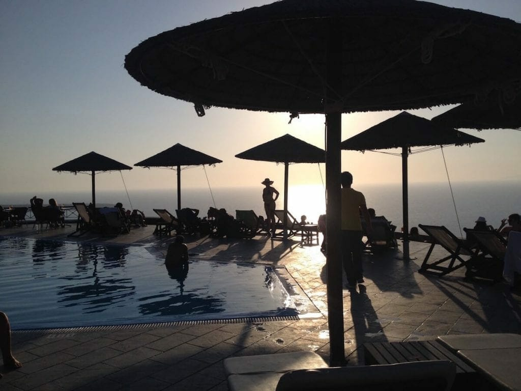 Lioyerma Lounge Cafe Pool Bar, Santorini