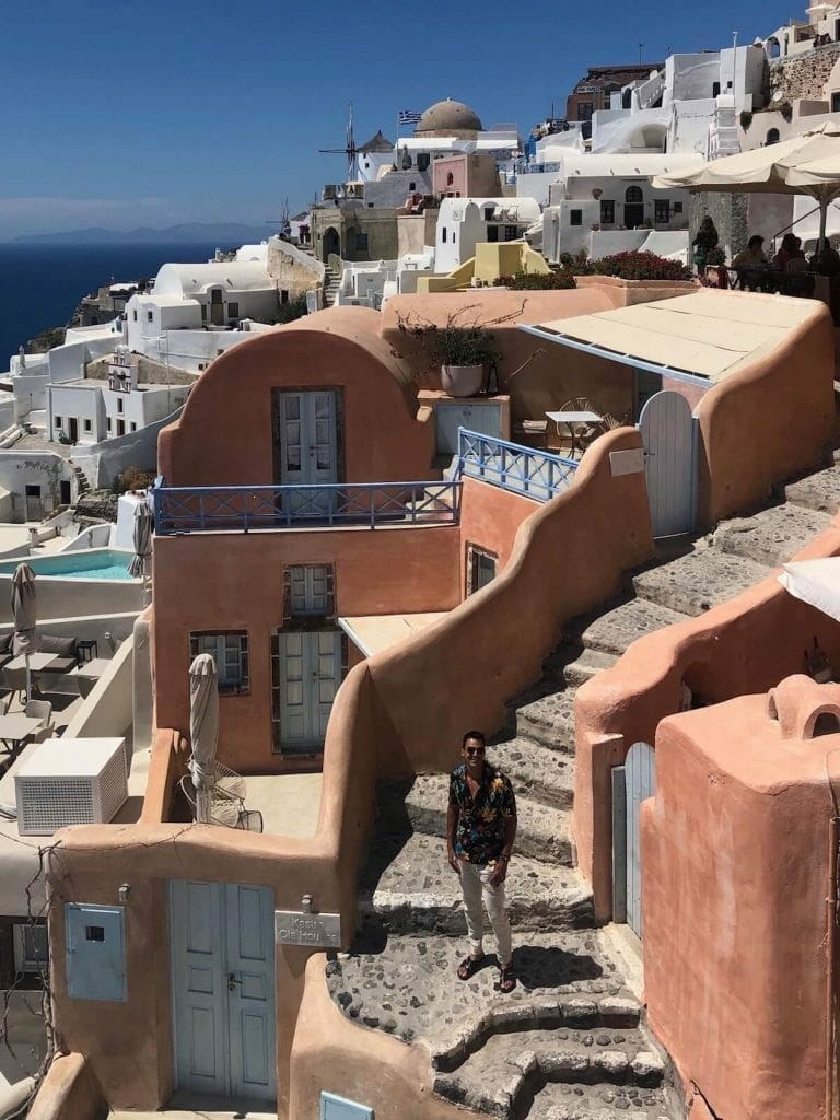 Instagrammable places in Oia, Santorini