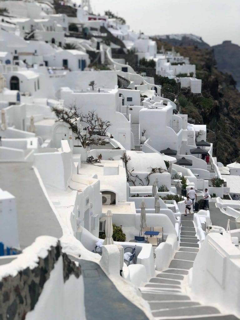Whitewashed houses, Oia, Snatorini