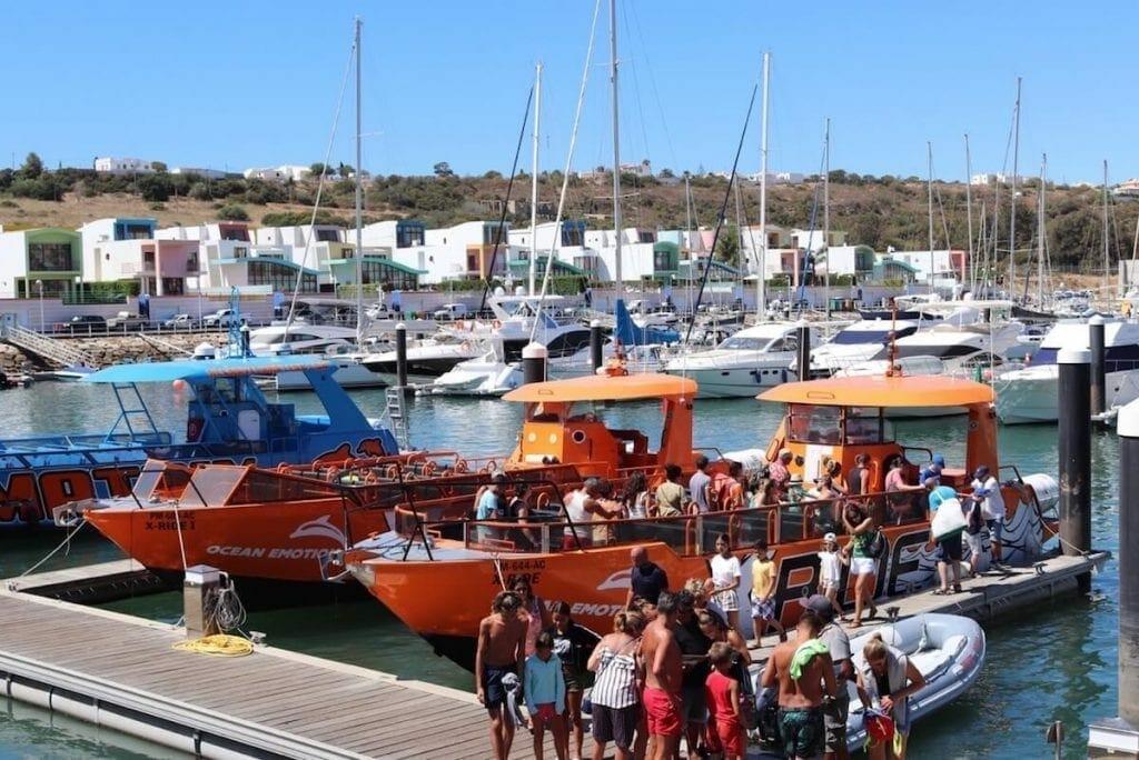 Boat Tours in Albufeira