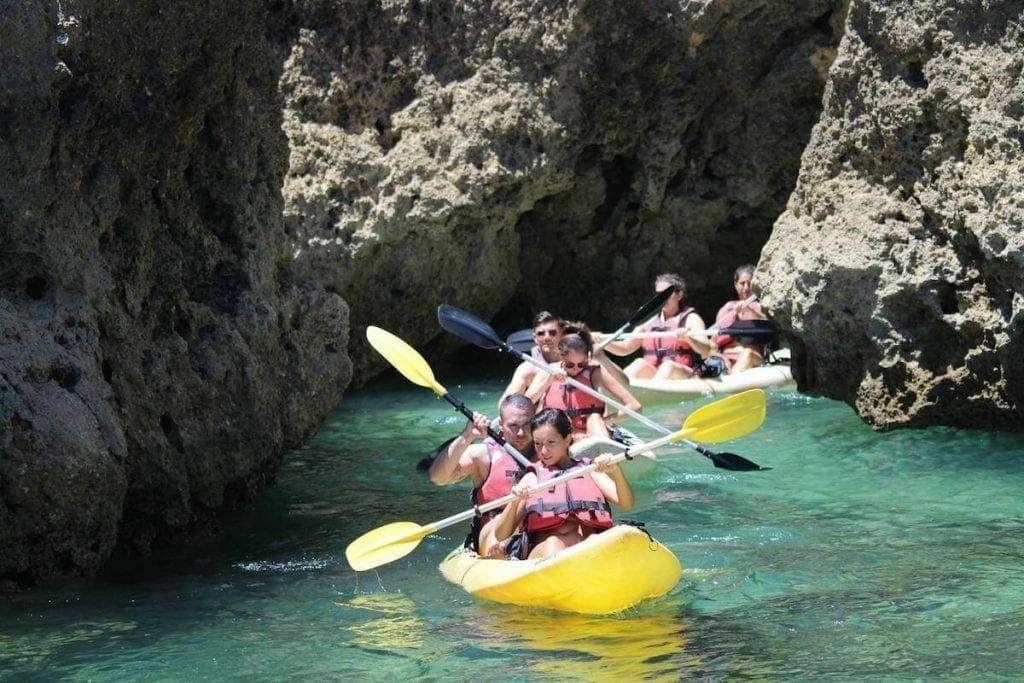 Kayaking Tour, Lagos, Algarve