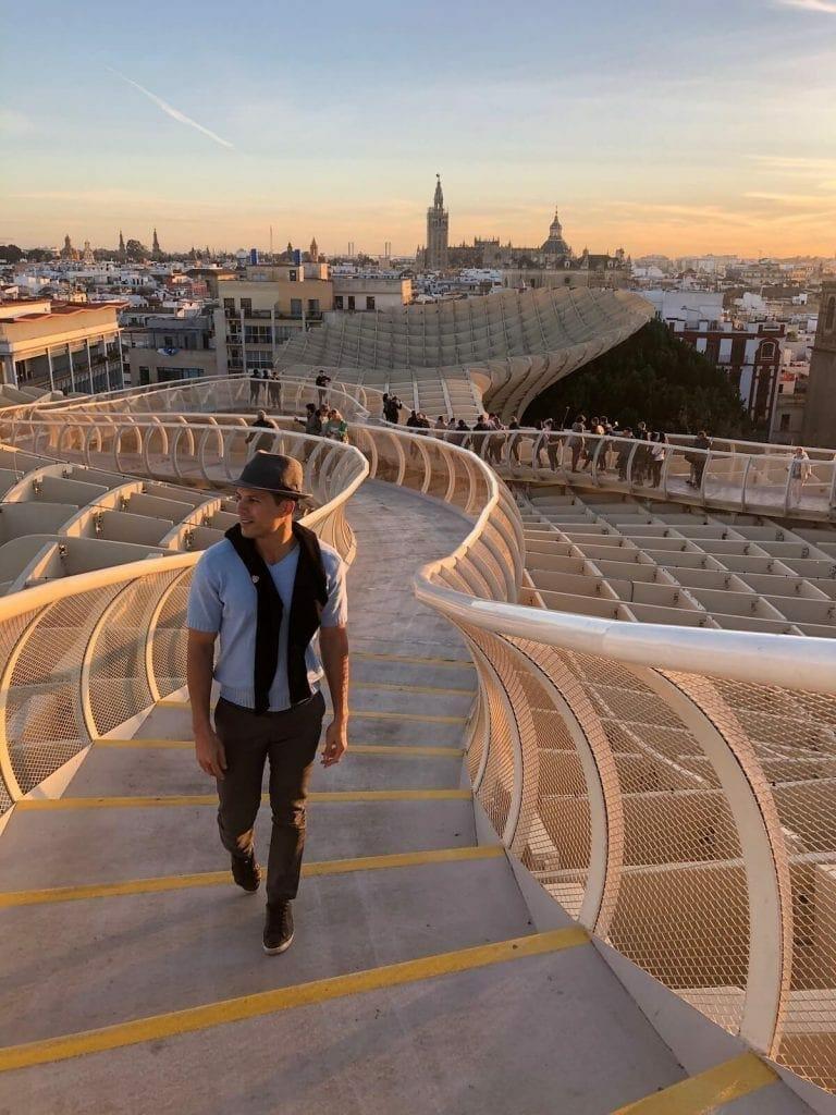metropol sombrilla Sevilla