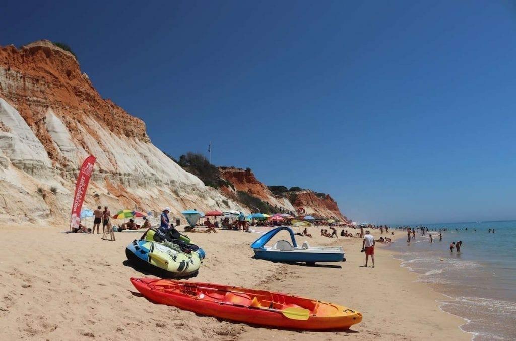 Algarve beaches for families