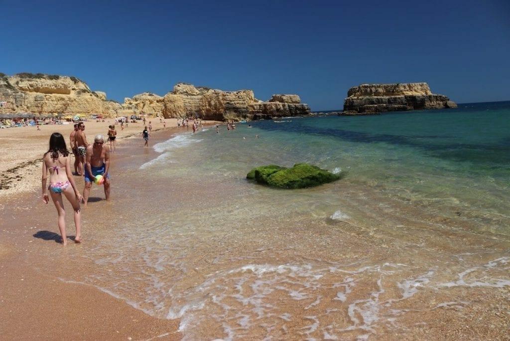 Playas para familia en el Algarve