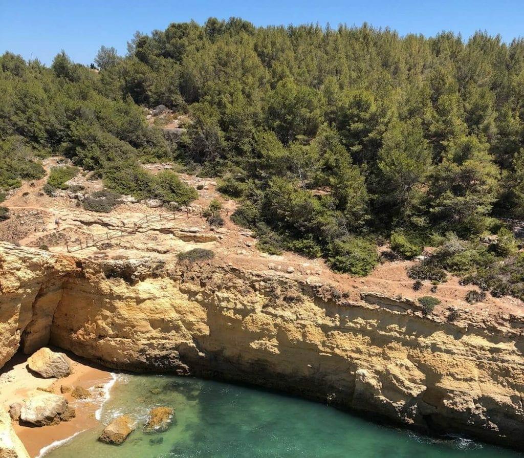 Sendero de los Siete Valles colgantes, Algarve