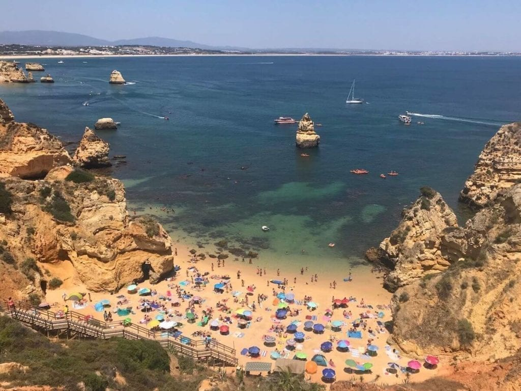 Beaches in Algarve: 7 Best & Most Beautiful Ones With a Map