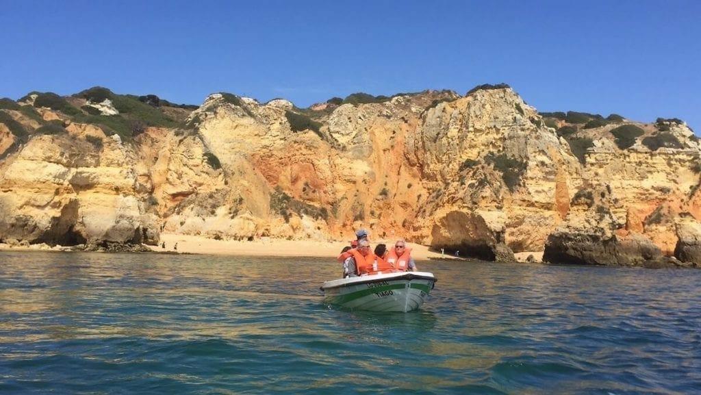 Boat trip to Ponta da Piedade