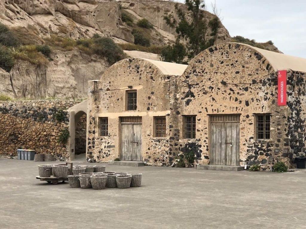 Santorini Old Tomato Factory
