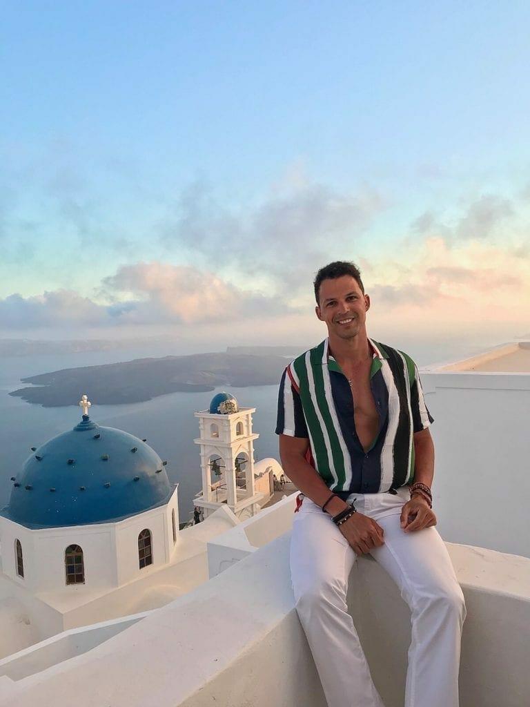 Lugares para tomar fotos para el Instragram en Santorini