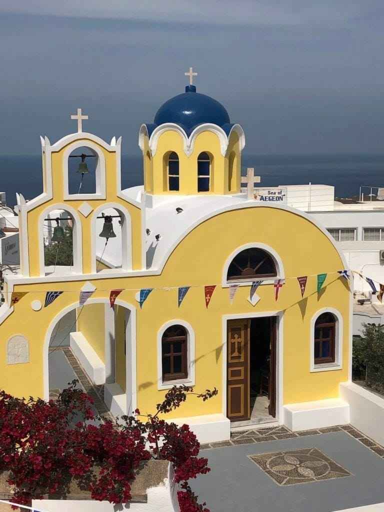 Saint Constantine & Santa Helena Church, near the Foklore Museum