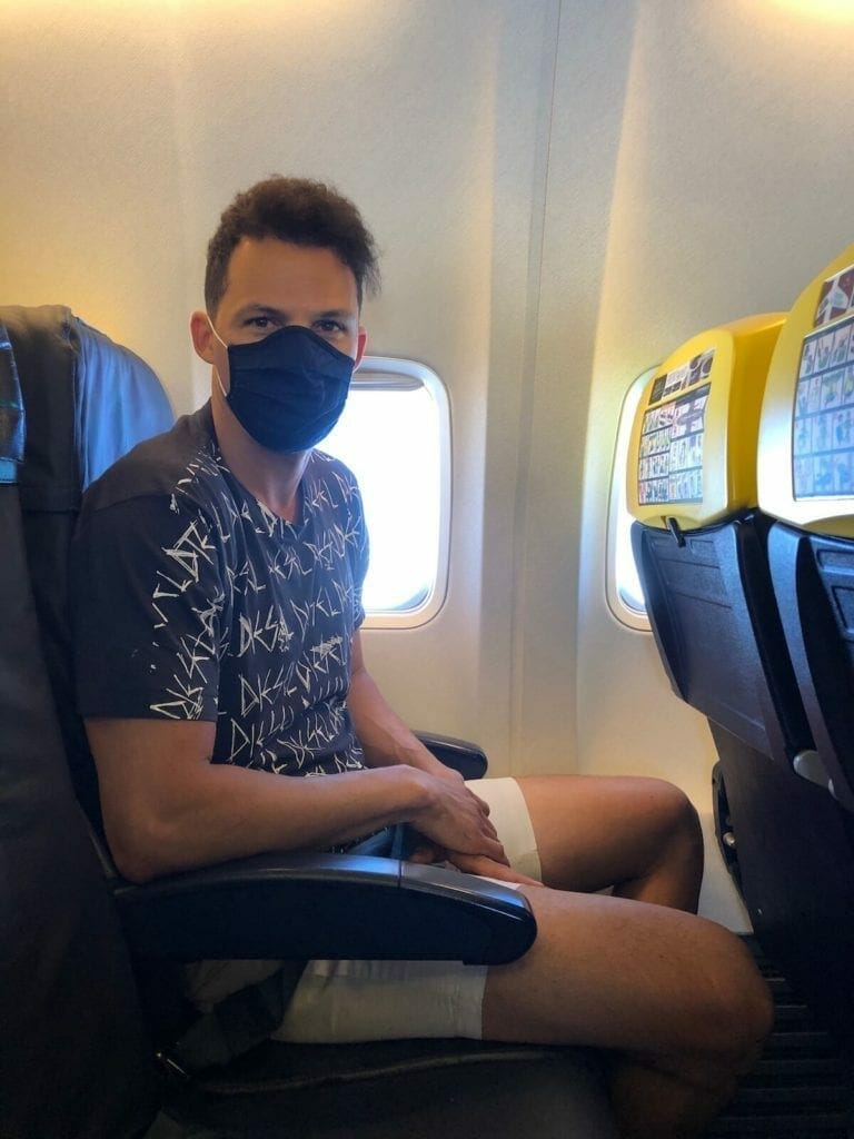 Flying with Ryanair during COVID-19