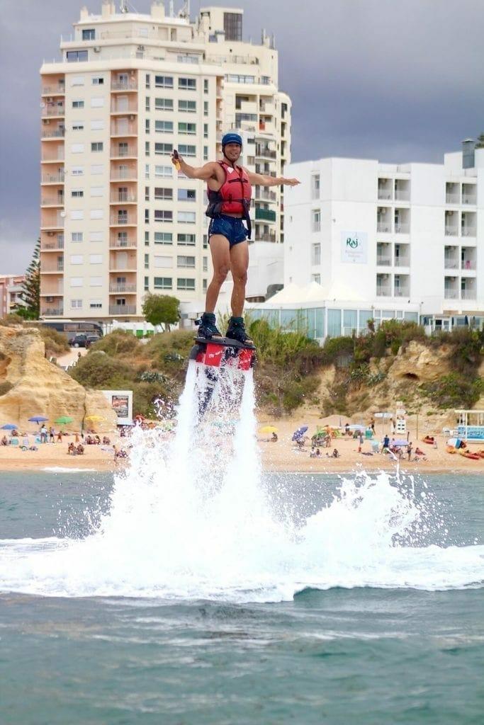 Flyboard, Algarve