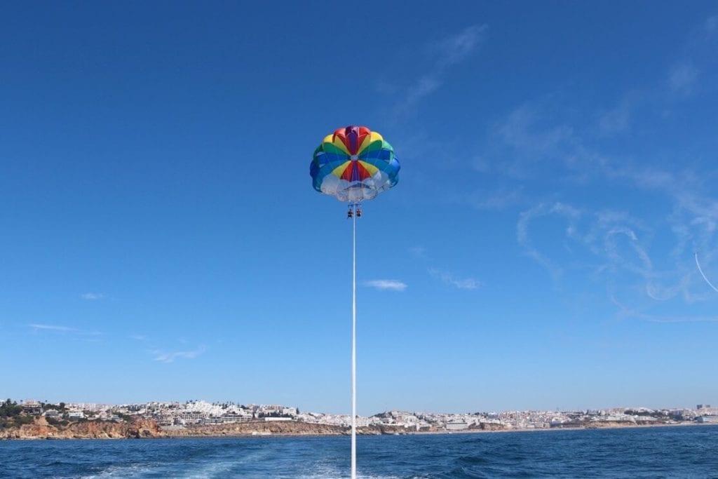 Parasailing, Albufeira, Algarve