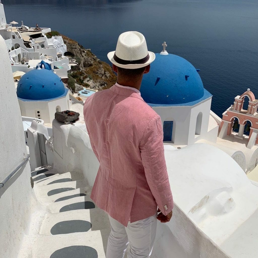 Best men's outfits for Greece